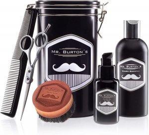 Mr Burton´s Bartpflegeset ( 5 Teilig )