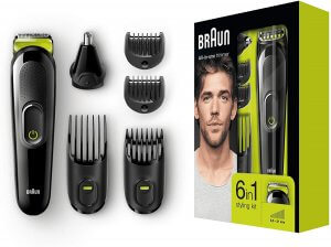 Braun 6-in-1 Multi-Grooming-Kit MGK3021
