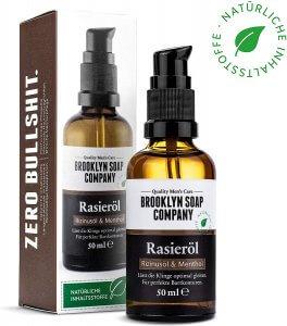 BROOKLYN SOAP COMPANY Shaving Oil Rasieröl